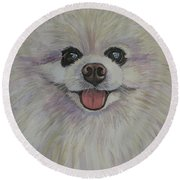 Chaz Round Beach Towel