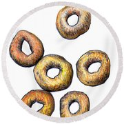 Cheerios 2 Round Beach Towel