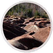 Cheltenham Badlands Round Beach Towel