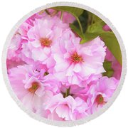 Cherry Blossoms I  Round Beach Towel