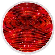 Cherry Coke Round Beach Towel