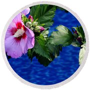Cherry Throat Round Beach Towel