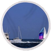 Chesapeake Bay Action Round Beach Towel