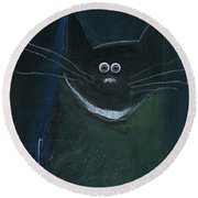 Cheshire Cheese Round Beach Towel