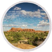 Chesler Colors Round Beach Towel