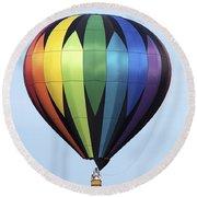 Chester County Balloon Fest 31 Round Beach Towel