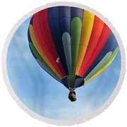 Chester County Balloon Fest 61 Round Beach Towel