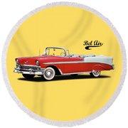 Chevrolet Bel Air 1956 Round Beach Towel