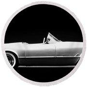 Chevrolet Corvette, 1953 Round Beach Towel