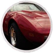 Chevrolet Corvette 1977 Round Beach Towel