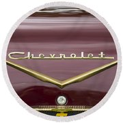 Chevrolet 4 Round Beach Towel