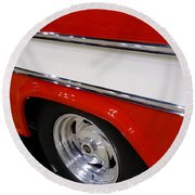 Chevy Cameo 1957 Round Beach Towel