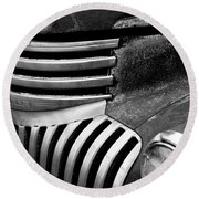 Chevy Grill Round Beach Towel