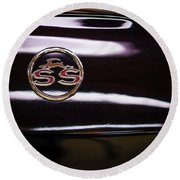 Chevy Ss Round Beach Towel