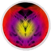 Chi Round Beach Towel