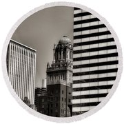 Chicago Architecture - 14 Round Beach Towel