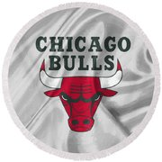 Chicago Bulls Round Beach Towel