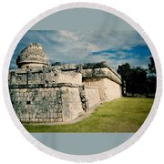Chichen Itza 1 Round Beach Towel