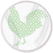 Chicken Round Beach Towel