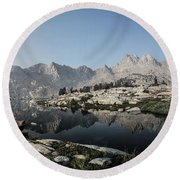 Chief Lake Round Beach Towel