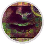 Child Of The Universe 2 Round Beach Towel