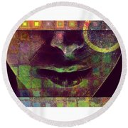 Child Of The Universe Round Beach Towel