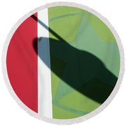 Chili Spot Round Beach Towel