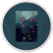 Chinese Ancient Style Round Beach Towel