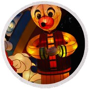 Chinese Lantern Festival British Columbia Canada 7 Round Beach Towel