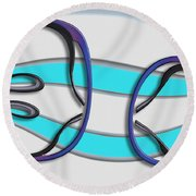 Choir Boys Round Beach Towel