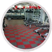 Choosing To Get The Benefits Of Silicone Gym Flooring Round Beach Towel