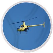 Chopper Round Beach Towel