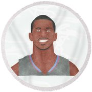 Chris Paul Round Beach Towel