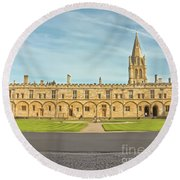 Christ Church College Oxford Round Beach Towel