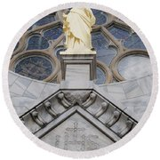 Christ Round Beach Towel