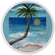 Christmas 2008 Round Beach Towel