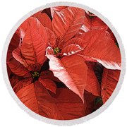 Christmas In July Round Beach Towel