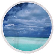 Christmas Island, Bone Fi Round Beach Towel