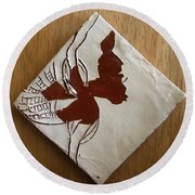 Christobel - Tile Round Beach Towel
