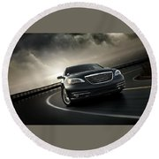 Chrysler 200 Round Beach Towel