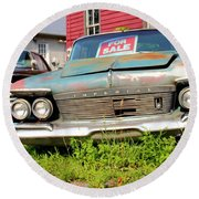 Chrysler Imperials Round Beach Towel