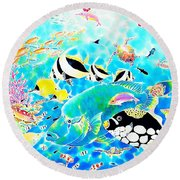 Churaumi Dream Round Beach Towel