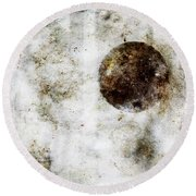 Circle In A Square Round Beach Towel