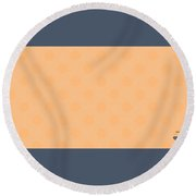 Finish Round Beach Towel