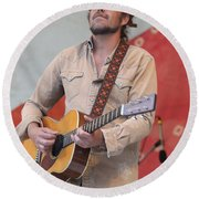 Citizen Cope Clarence Greenwood Round Beach Towel