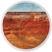 City - Arizona - The Grand Canyon Round Beach Towel
