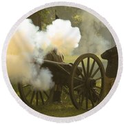 Civil War Round Beach Towel