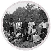 Civil War: Scouts & Guides Round Beach Towel