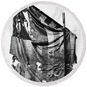 Civil War: Union Flag Round Beach Towel