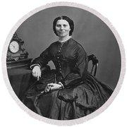 Clara Barton (1821-1912) Round Beach Towel